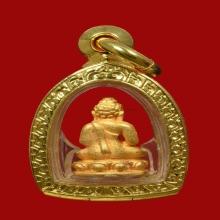 พระชัยฯ ล.ป.บุดดา วัดกลางชูศรีเจริญสุข เนื้อทองคำ