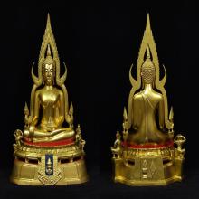 พระบูชาชินราช พระมาลาเบี่ยง 11.9 นิ้ว แจกกรรมการ