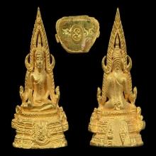 พระพุทธชินราชทองคำ รุ่นปฏิสังขรณ์ เนื้อทองคำ