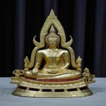 พระพุทธชินราช พิธีจักรพรรดิ์ ปี ๒๕๑๕ 5.9 นิ้ว