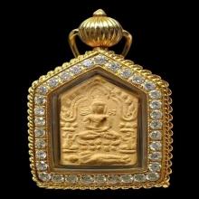 พระขุนแผนผงพรายกุมาร บล็อกแรก เนื้อว่านดอกทอง 1 ใน 22 องค์