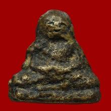 พระรูปหล่อโบราณ หลวงพ่อโพธิ์ วัดโรงวัว ปี2485