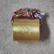 ตะกรุดโลกธาตุหลวงปู่หยอด วัดแก้วเจริญ เนื้อทองคำ รุ่นแรก