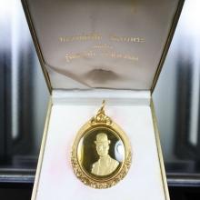 เหรียญเพริ์ธ หลวงพ่อเปิ่น ร.5 เนื้อทองคำ รุ่นเสาร์5 ปี 36