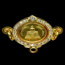หลวงพ่อโสธร รุ่นสร้างพระอุโบสถ ปี39 เนื้อทองคำ(พิมพ์เล็ก)