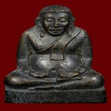 รูปหล่อปั้ม พระสังกัจจายน์ วัดขุนจันทร์ ตลาดพลู ปี 2506