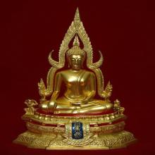 พระพุทธชินราช ภปร ๕.๙ นิ้ว ปี ๒๕๓๑ ปิดทองเดิม