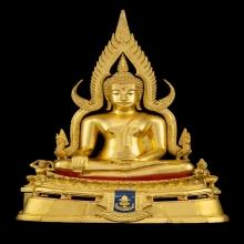 พระพุทธชินราช มาลาเบี่ยงปี 2520 หน้าตัก 9.9นิ้ว