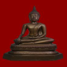 พระบูชา พระพุทธวัดโกรกกราก จ.สมุทรสาคร ปี2515 ขนาด7นิ้ว