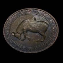 เหรียญนามปีรุ่นแรกเนื้อนวโลหะปีฉลู