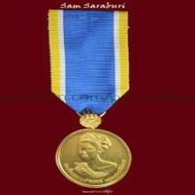 เหรียญพระราชินี ที่ระลึกประดับแพรแถบเฉลิมพระเกียรติ