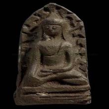 พระรอดวัดมหาวัน จ.ลำพูน ปี 2518 มหาพุทธาภิเศกอินเดีย พิมพ์ม
