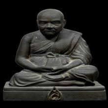พระบูชารูปเหมือน หลวงพ่อจาด วัดบางกระเบา จ.ปราจีนบุรี