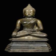 พระบูชา ศิลปะขนมต้ม ยุคสมัยอยุธยา