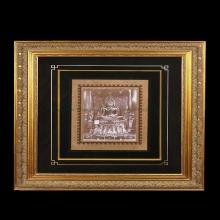 รูปถ่ายซีเปีย หลวงพ่อพระพุทธชินราช