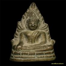 พระพุทธชินราชอินโดจีน พิมพ์ต้อบัวขีด มีโค้ด ปี 2485