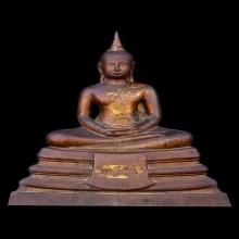 พระบูชาหลวงพ่อพระพุทธโสธร ปี 2509 หน้าตัก 9 นิ้ว ตรงปี