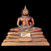พระบูชาหลวงพ่อโสธร ปี 2509 สามกษัตริย์ หน้าตัก 5 นิ้ว ตรงปี