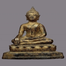 พระพุทธรูปสมัยเชียงแสนลังกาวงศ์นั่ง