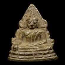 รูปหล่อพระพุทธชินราช อินโดจีน ปี 2485 วัดสุทัศน์