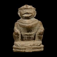 หนุมานหลวงพ่อสุ่น วัดศาลากุนหน้ากระบีเนื้อไม้แกะศิลป์ยุคต้น2