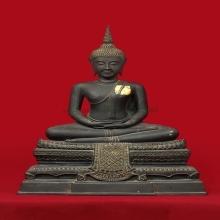 พระบูชาพระพุทธไชยศรี หลวงปู่เพิ่ม วัดกลางบางแก้ว ปี 2518 หน้