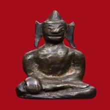 พระบูชา สมัยอยุทธา ศิลปะนครศรีฯ ขนาดห้อยคอ