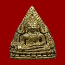 พระพุทธชินราช หลัง มค.๑ พิมพ์สามเหลี่ยม วัดสุทัศน์ฯ ปี 2494