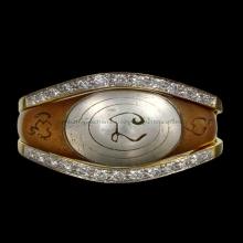 แหวนหัวนะ หลวงพ่อทองศุข วัดตะโหนดหลวง เพชรบุรี เสื้อเพชร