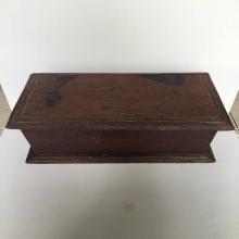 กล่องใส่ของไม้สักโบราณ