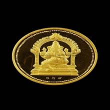 พระภิฆเนศวร  วัดแขกรุ่นแรก ทองคำ