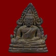 พระพุทธชินราช อินโดจีน2485 พิมพ์สังฆาฏิสั้น(หน้ายักษ์)