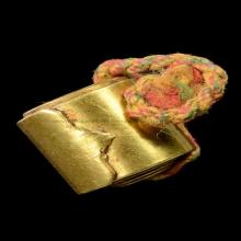 ตระกรุดหลวงปู่ใจเนื้อทองคำ แชมป์งานใหญ่