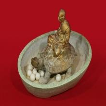 พระบูชาหลวงปู่หลิวนั่งเต่า วัดไทรทอง รุ่นฉลองอายุครบ 90 ปี พ