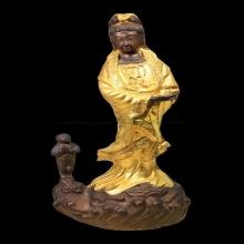พระบูชาเจ้าแม่กวนอิม สร้าง ปี2523 เนื้อโลหะผสม สูง16 นิ้ว หล