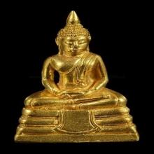 พระกริ่งลพ.โสธร ปี 2533 พิมพ์ใหญ่ เนื้อทองคำ
