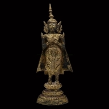 พระบูชาสมัยรัตนโกสินทร์ ปางรำพึง สูง 15 นิ้ว พระประจำคนเกิดว