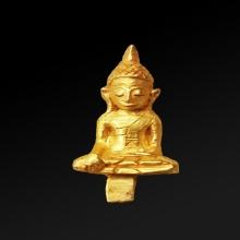 พระยอดธงทองคำ สมัยอยุธยา อายุประมาน 500-600ปี