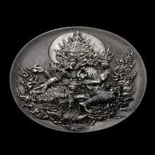 เหรียญพระพิเฆศเนื้อเงินของ ท่านอ.เฉลิมชัย ตัวv