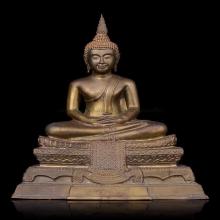 พระบูชา พระพุทธชัยศรี วัดกลางบางแก้ว ปี 18 หน้าตัก 5 นิ้ว