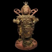 เทพทวารบาล สมัยราชวงค์ชิง (สมัยอยุธยา-ต้นรัตนะโกสินทร์) เนื้