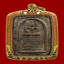 พระสมเด็จเข่าตุ่มผงยาจินดามณี หลวงปู่บุญ