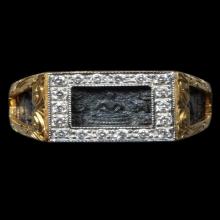 แหวนพระพุทธ ปี2532 หน้าใหญ่นิยม โค้ต วสก หลวงปู่ดู่ วัดสะแก