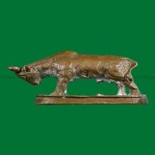 วัวธวัวธนู รุ่นแรก เนื้อทองแดง หลวงพ่อแช่ม วัดดอนยายหอม