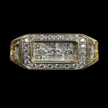 แหวนมหาจักรพรรดิ หลวงปู่ดู่ วัดสะแก ปี2532
