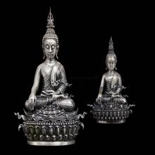 กริ่งพระพุทธประทานยศบารมี เนื้อเงิน ใหญ่-เล็ก อ.เฉลิมชัย