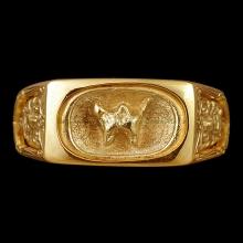 แหวน พ.พาน หลวงปู่เย็น วัดสระเปรียญ ชัยนาท เลี่ยมทอง ส่งไต้ห