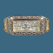 แหวนมหาจักรพรรดิ หลวงปู่ดู่ วัดสะแก ปี2522 มีตุ่ม ของพี่โก้