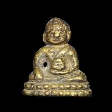 พระชัยวัฒน์พุทโธน้อย คุณแม่บุญเรือนปี๒๔๙๖ สวยเดิมๆ หายากครับ