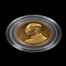 เหรียญในหลวง ครองราชย์ครบ60 พรรษา ทองคำ